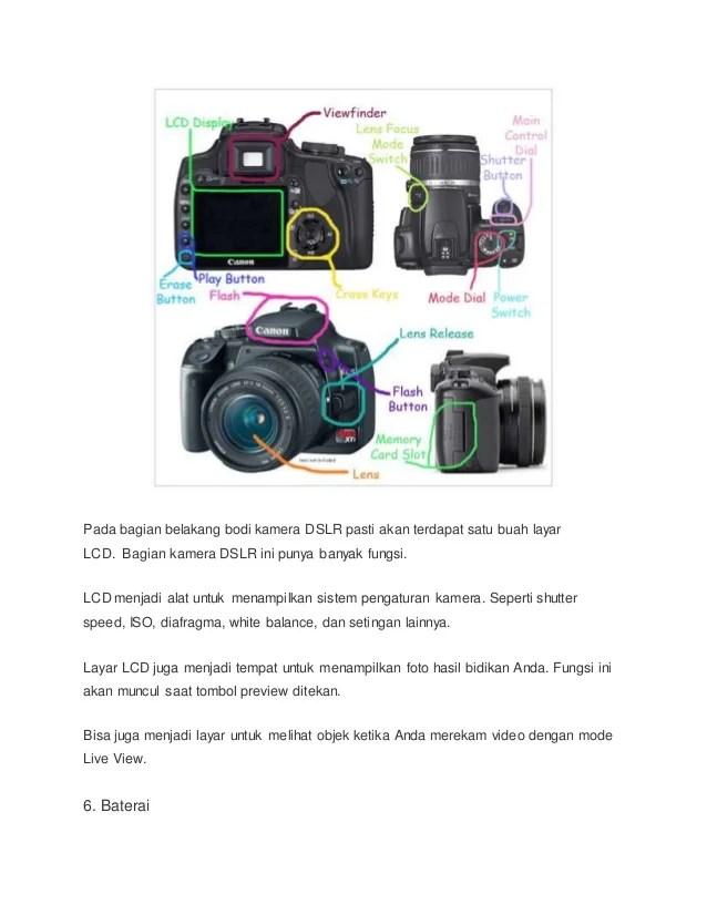 Bagian Kamera Dslr Dan Fungsinya : bagian, kamera, fungsinya, Makalah, Fotografi