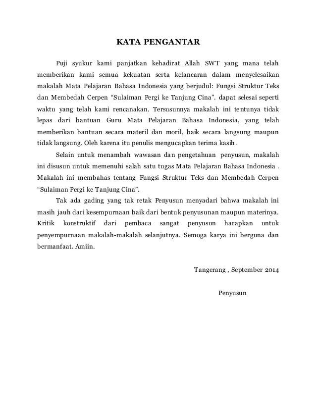 "Struktur Teks Cerpen : struktur, cerpen, Fungsi, Struktur, Membedah, Cerpen, ""Sulaiman, Pergi, Tanjung…"