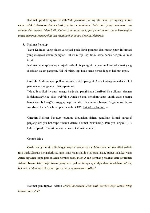 Apa Yang Dimaksud Ide Pokok Paragraf : dimaksud, pokok, paragraf, Contoh, Makalah, Pokok, Struktur