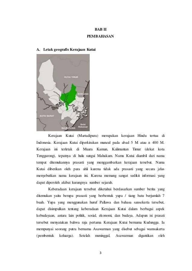 Makalah Sejarah Kerjaan Hindu Budha - Makalah