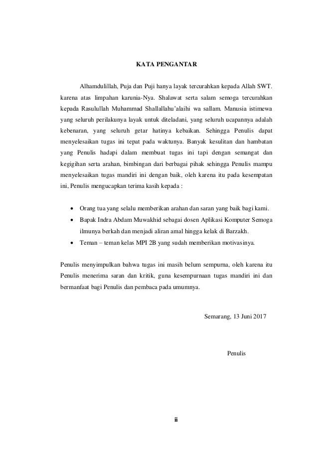 Contoh Pendahuluan Makalah Komputer Garumah Cute766