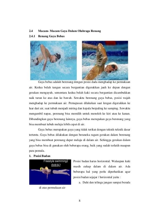 Penjelasan Tentang Olahraga Renang : penjelasan, tentang, olahraga, renang, Makalah, Olahraga, Renang