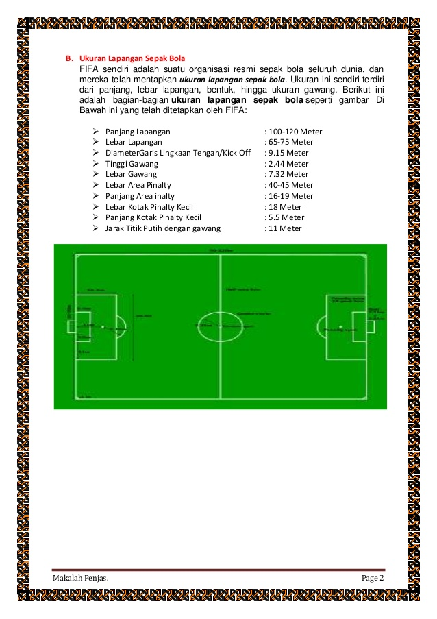 Gambar Lapangan Sepak Bola Dan Keterangannya : gambar, lapangan, sepak, keterangannya, Download, Gambar, Lapang, Sepak, Beserta, Ukuran