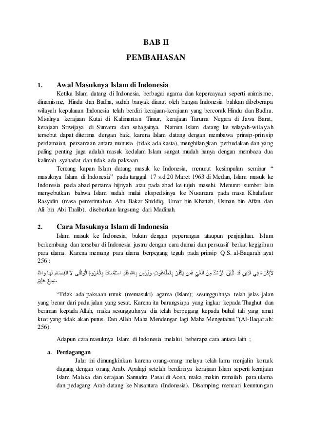 Contoh Makalah Kerajaan Kerajaan Islam Zaman Penjajahan Belanda Cute766