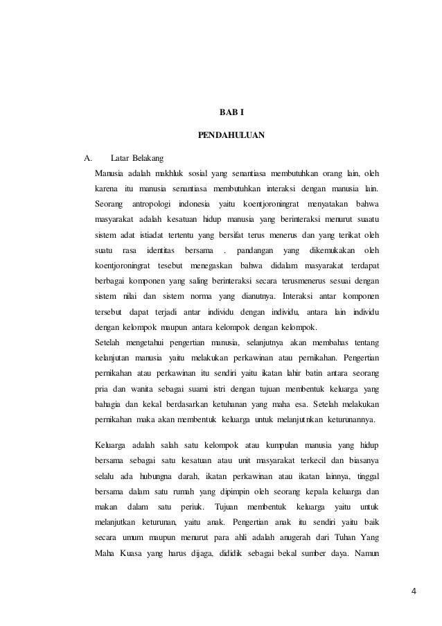 Contoh Latar Belakang Makalah Pkn Aneka Macam Contoh Cute766