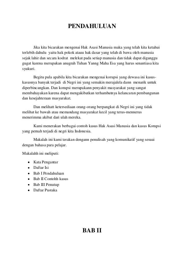 Contoh Pendahuluan Makalah Pkn Download Contoh Lengkap Gratis