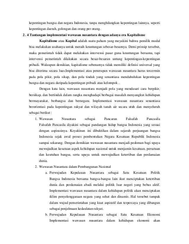 Pengertian Nusantara - Konsepsi, Geopolitik, Geostrategi