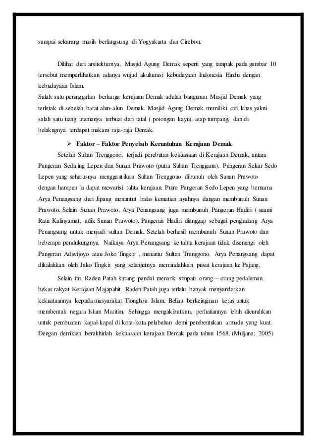 Perlawanan Demak Terhadap Portugis : perlawanan, demak, terhadap, portugis, Makalah, Sejarah, Tentang, Perlawanan, Kerajaan, Demak, Terhadap, Portugis