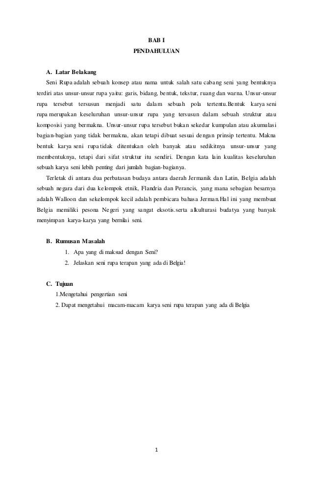 Cabang Cabang Seni Kriya : cabang, kriya, Makalah, Kriya, Belgia