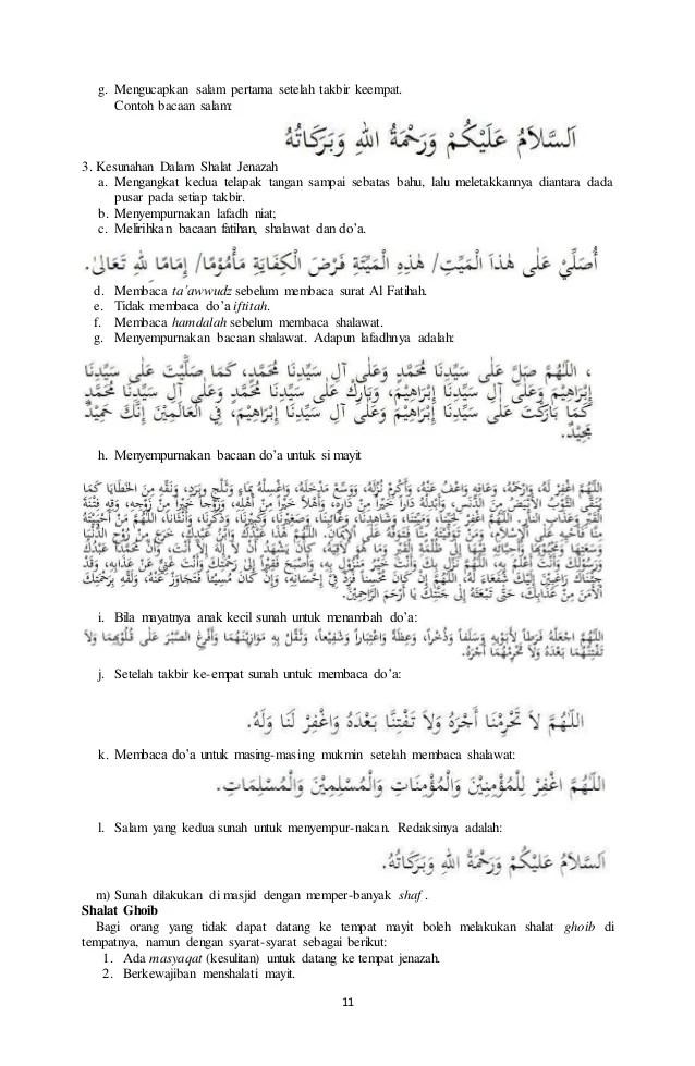 Urutan Bacaan Sholat Jenazah : urutan, bacaan, sholat, jenazah, Bacaan, Sholat, Jenazah, Setelah, Takbir