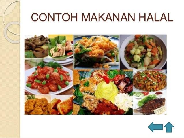 Makanan halal haram baik