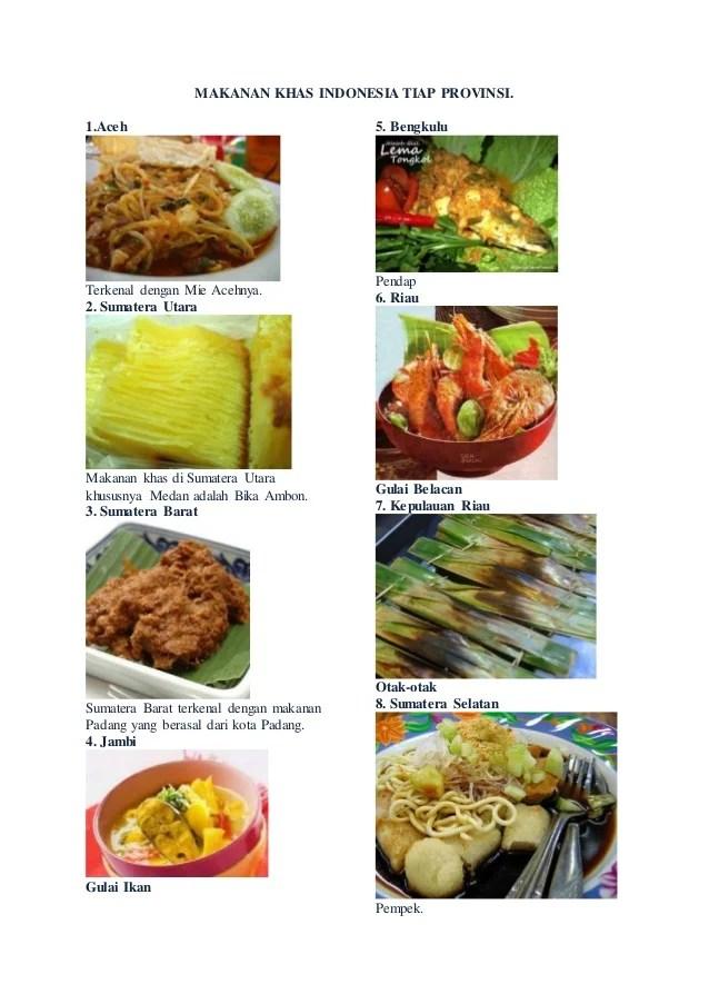 Gambar Makanan Khas Indonesia : gambar, makanan, indonesia, Makanan, Indonesia, Provinsi