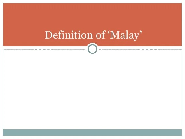 Malay reservation land