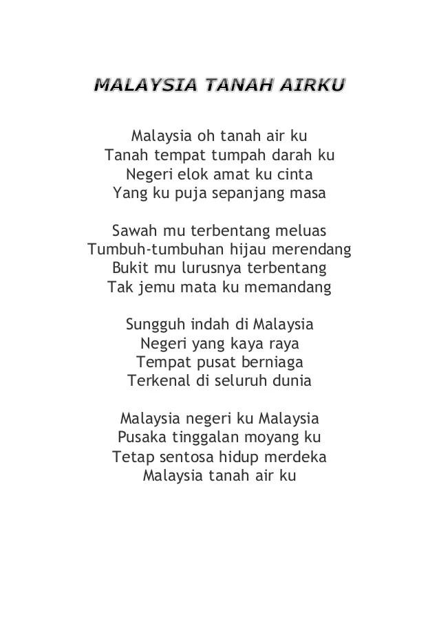 Contoh Karangan Malaysia Tanah Airku Non Contoh Cuitan Dokter