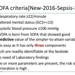 Sofa Score Calculator Excel Set For Cheap New Criteria Sepsis | Www.gradschoolfairs.com