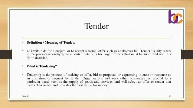 Cover Letter For A Tender | Resume Pdf Download