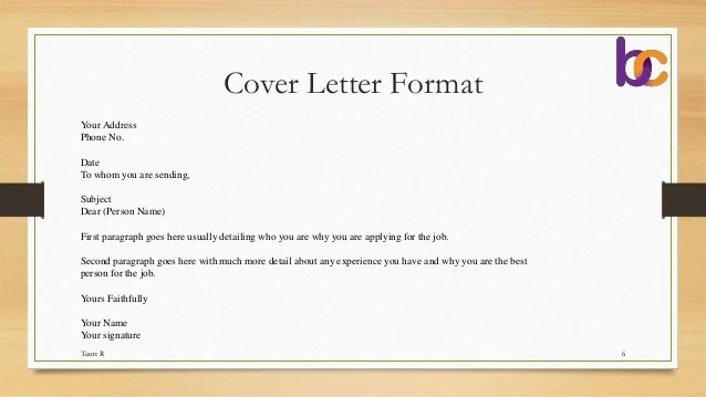 Sending Resume And Cover Letter By Email | Reference Letter ...