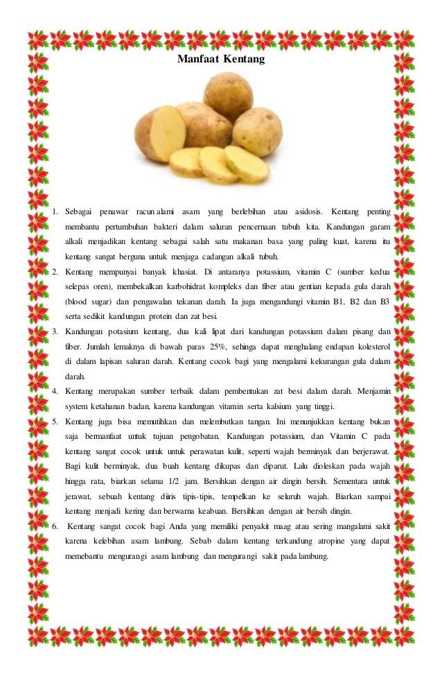 Kentang - Wikipedia bahasa Indonesia, ensiklopedia bebas