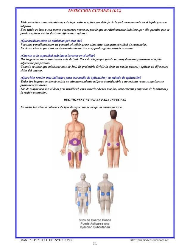Que Pasa Si Se Aplica Mal Una Inyeccion Intramuscular ...