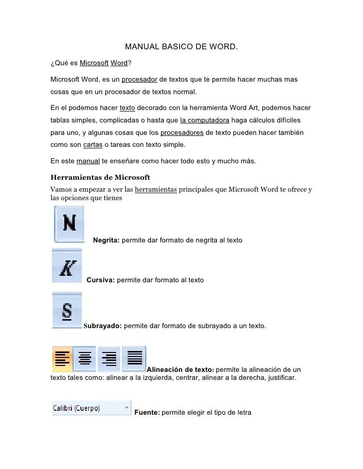 Word 2010 User Manual