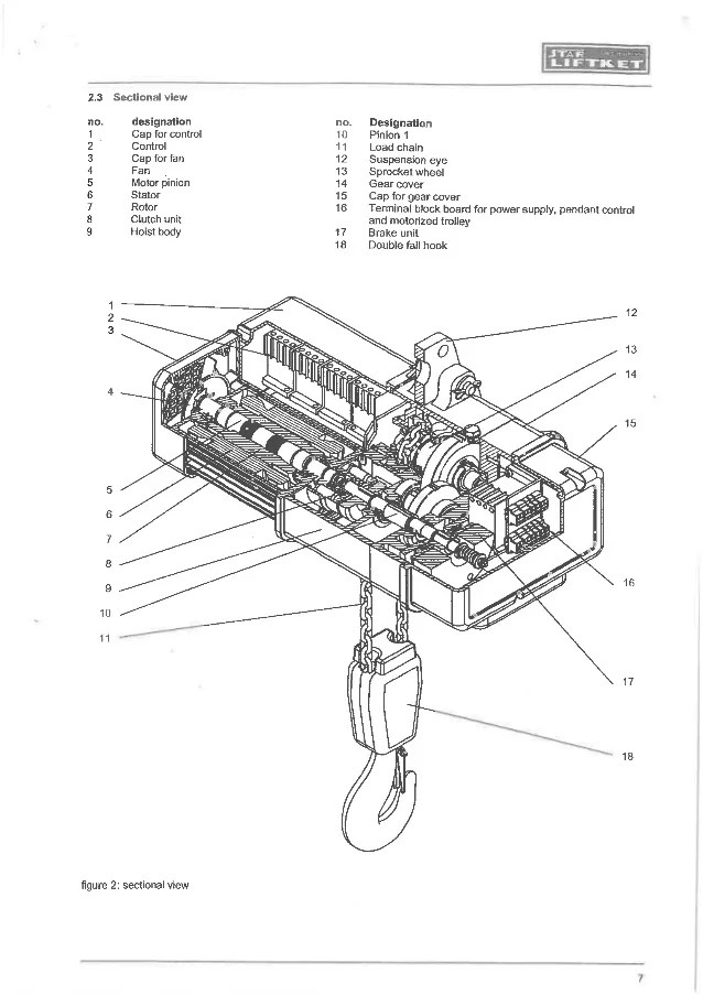 Wiring Diagram For A Coffing Hoist