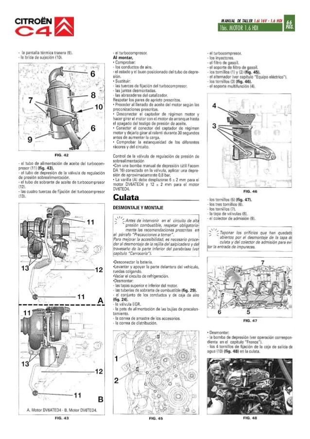 MANUAL DE TALLER CITROEN C2 HDI  Auto Electrical Wiring Diagram