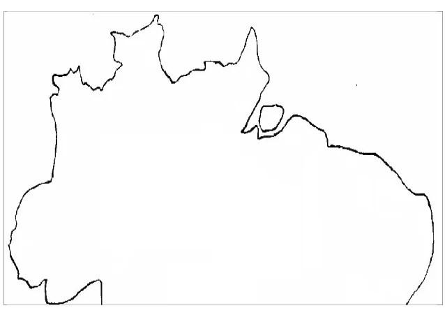 Croquis Del Mapa De America