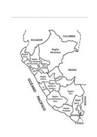mapa del peru para colorear mapas del peru y sudamerica ...
