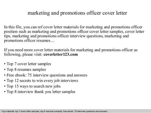 How To Write A Cover Letter For A Marketing Job
