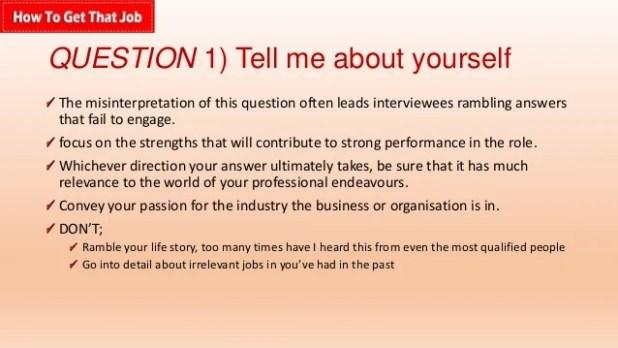 marketing interviews