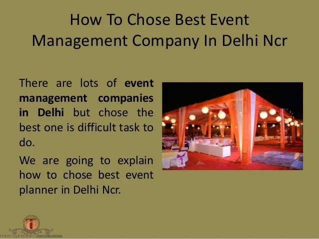 Marriage Event Management Companies In Delhi