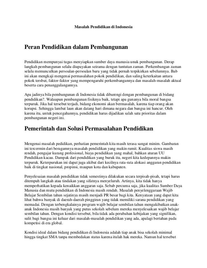 Contoh Artikel Non Ilmiah Tentang Pendidikan Forex Typo Cute766