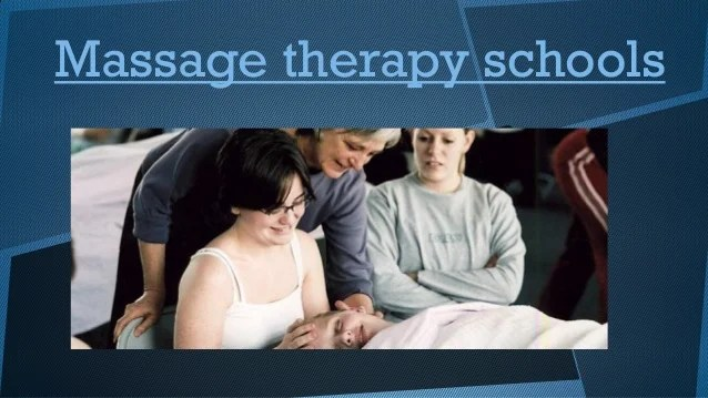 Massage therapy schools