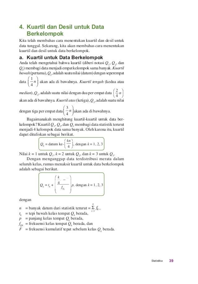 Cara Menghitung Kuartil Atas : menghitung, kuartil, Matematika