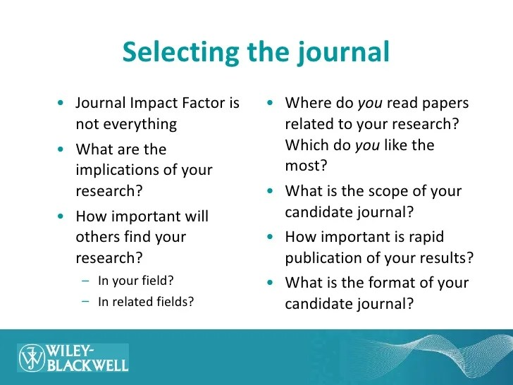 Materials Science Publishing (and How To Maximize Your