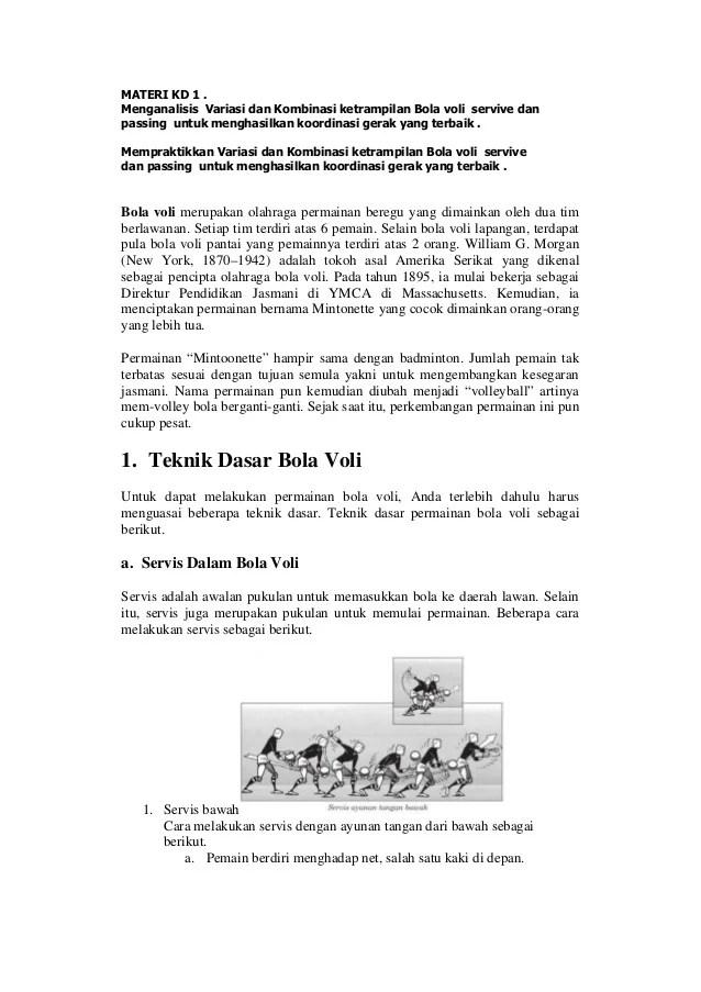 Jelaskan Cara Melakukan Variasi Dan Kombinasi Servis Panjang Dan Pukulan Backhand : jelaskan, melakukan, variasi, kombinasi, servis, panjang, pukulan, backhand, Materi, Smter2tanpa