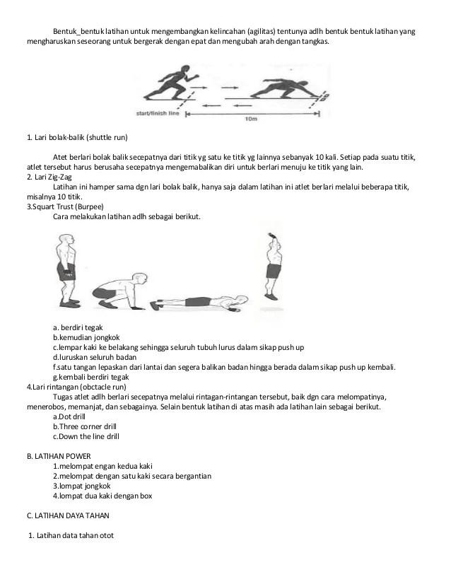 Cara Melakukan Lari Bolak Balik : melakukan, bolak, balik, Materi, Penjasorkes, Kelas, Smstr