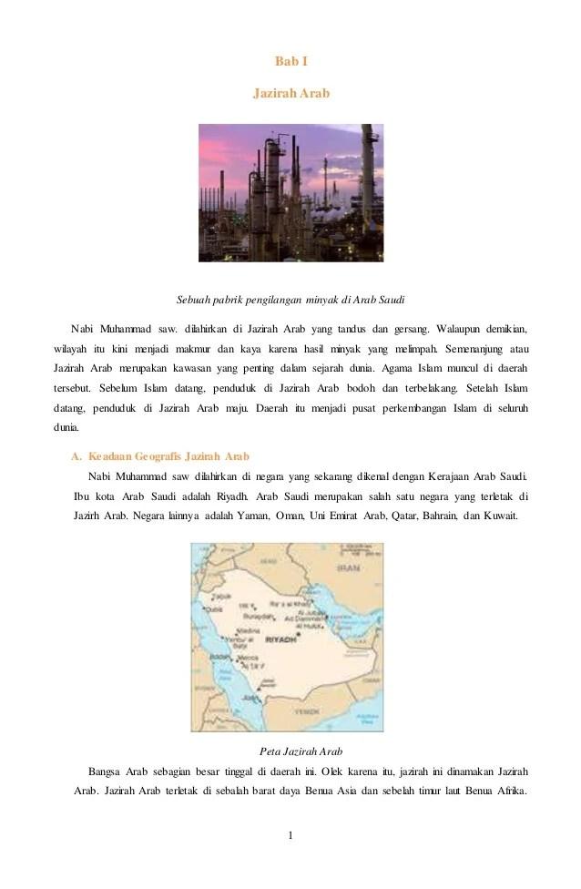 Sebelum Islam, Begini Letak Geografis Jazirah Arab - Islampos