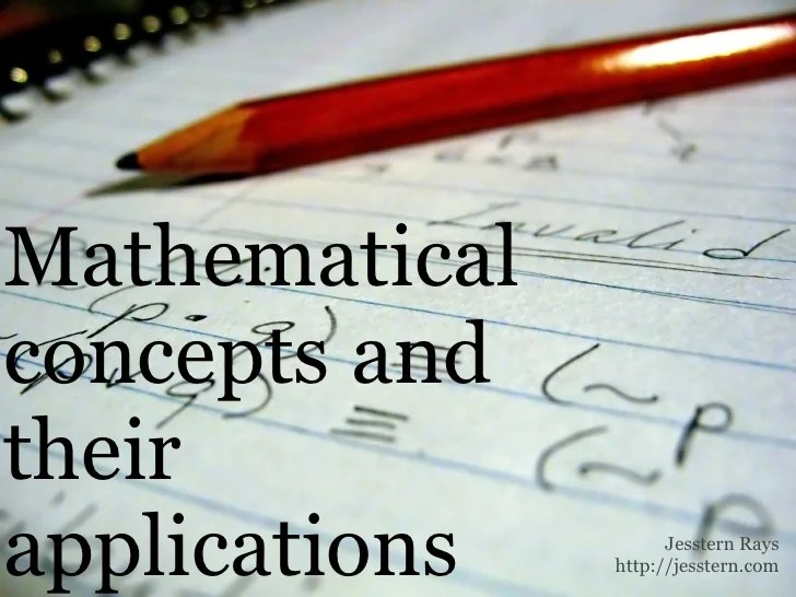 Mathematical Answers 2 Course Applications And Concepts