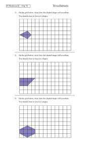 Printables. Tessellations Worksheet. Mywcct Thousands of ...