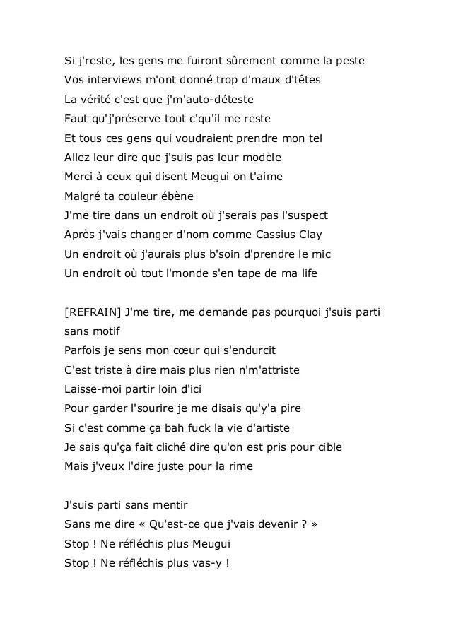 Maitre Gims J Me Tire Parole : maitre, parole, Mandatom, Točka, Maître, Tekst, Patricedebruxelles.com