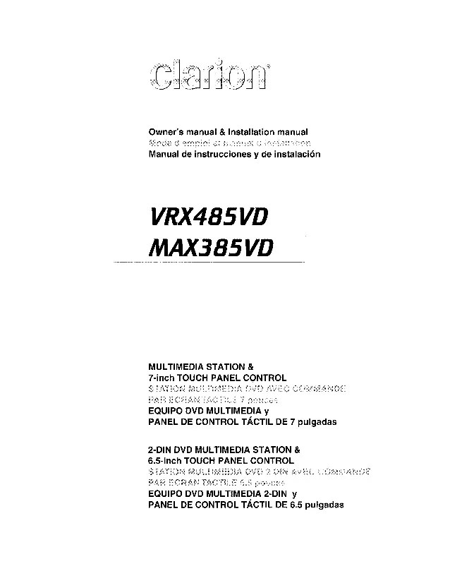 clarion max385vd user manual 1 638 clarion cd player wiring diagram efcaviation com clarion m475 wiring diagram at gsmportal.co