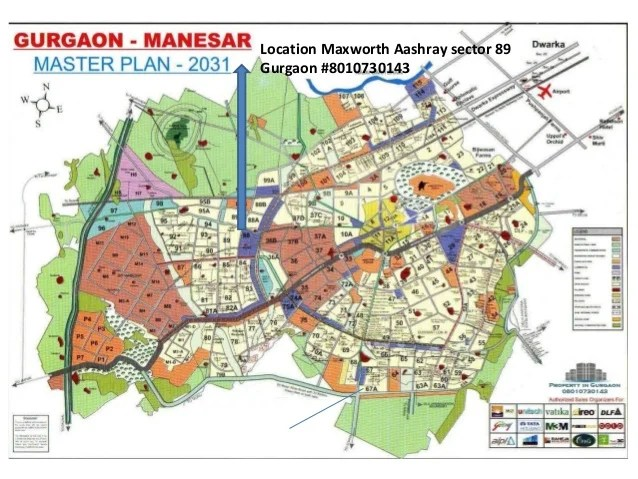 Location Maxworth Aashray sector 89 Gurgaon #8010730143
