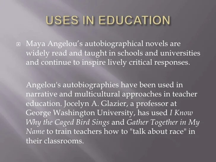 Maya Angelou Research Paper Introduction College Paper Help
