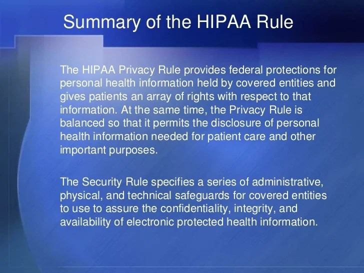 Integrity Security Information