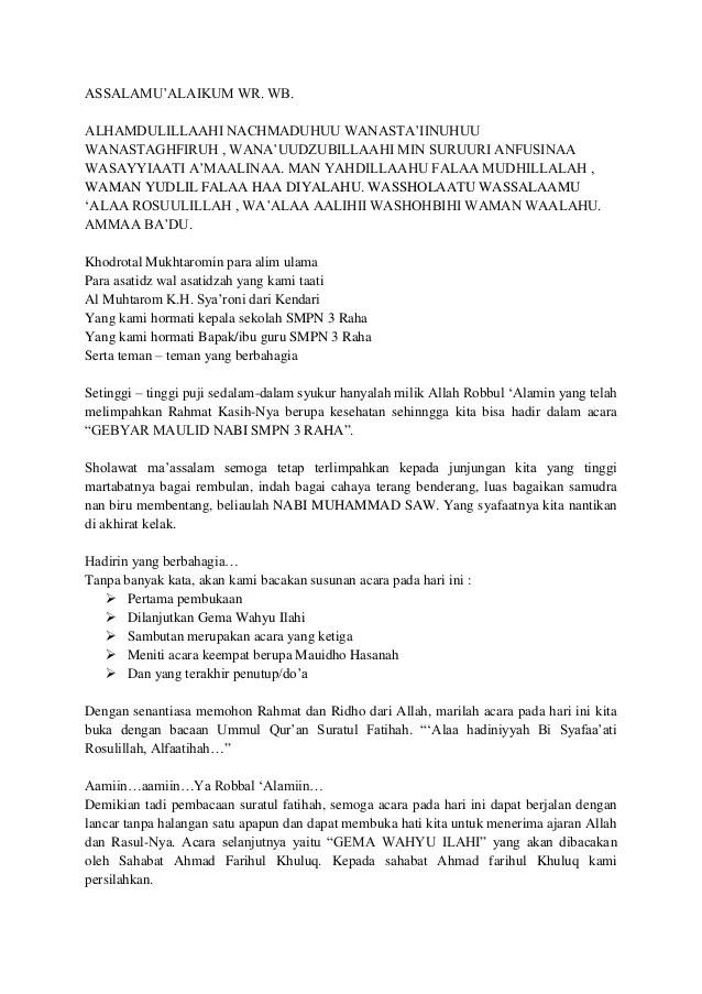 Mc Bahasa Sunda : bahasa, sunda, Maulid, Muhammad