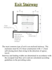 Door Landing Dimensions & ... 83. Determining Stairway ...