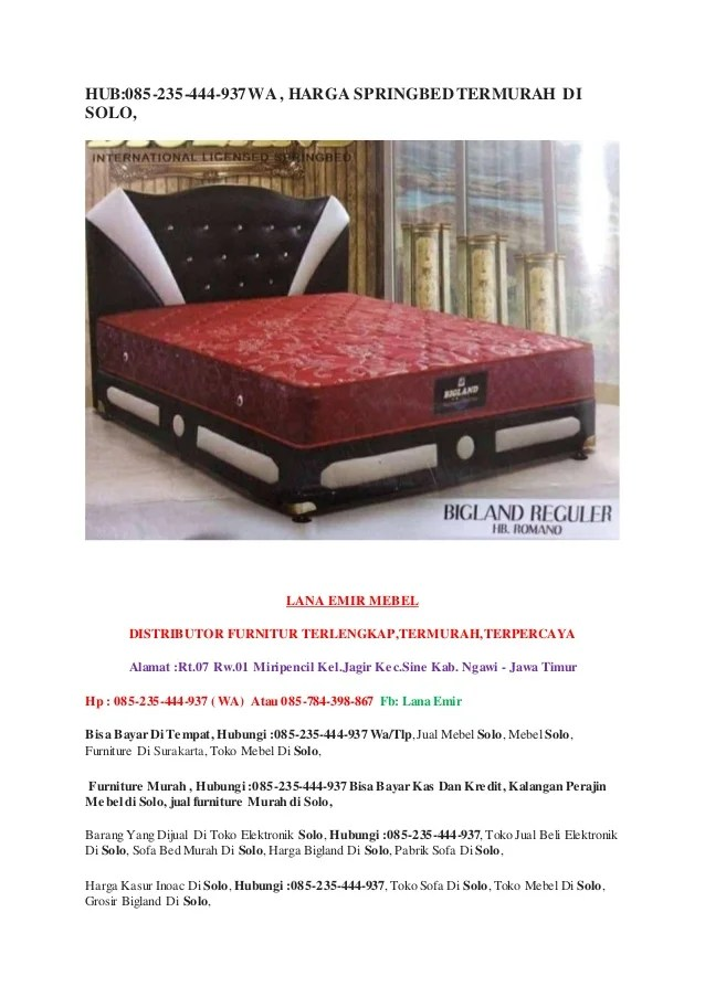Furniture Jepara Termurah Di Solo Hp 085 235 444 937 Wa