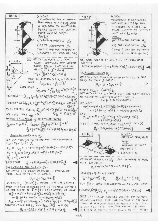 Mecanica vectorial para ingenieros, dinamica 9 edicion