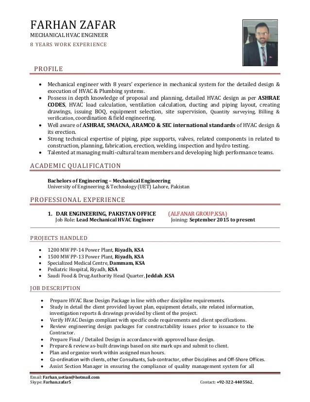 mechanical engineering manager resume examples